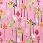 Alexander Henry Fabrics - Kids - Princess Kingdom - Enchanted Forest in Pink