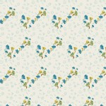 Art Gallery Fabrics - Fantasia - Knits - Bous Trail in Bluet