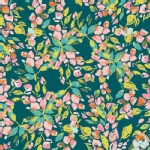 Art Gallery Fabrics - Knits - Sage - Bougainvillea in Evergreen