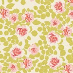 Art Gallery Fabrics - Knits - Pruning Roses in Citrus