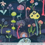 Blend Fabrics - Faraway Forest - Garden Party Friends in Navy