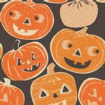 Blend Fabrics - Halloween - Spooktacular - Pumpkintopia in Orange