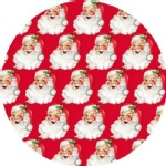 Blend Fabrics - Holiday - St Nick in Red
