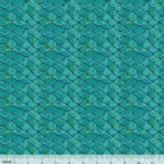 Blend Fabrics - Mermaid Days - Mermaid Scalloped in Turquois