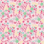 Blend Fabrics - Sugar Rush - Christmas Candy in Pink