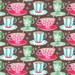 Blend Fabrics - Sugar Rush - Cups of Comfort in Brown