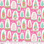 Blend Fabrics - Sugar Rush - Snowglobe Forest in Pink