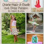 Burlap Button - Patterns - Charlie Mack-A-Doodle Knit Twirl Dress in PDF eFile