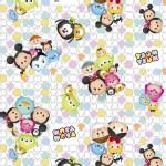 Character Prints - Mickey - Tsum Tsum Group Toss in White