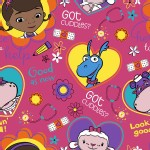 Character Prints - Other Characters - Doc McStuffins Boo Boo Toss in Pink