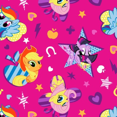 Character Prints - Other Characters - My Little Pony Cutie Toss in Pink
