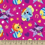 Character Prints - Other Characters - KNIT - MLP Cutie Toss in Pink