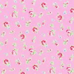 Lecien - Flower Sugar 2013 Fall - Tossed Floral in Pink