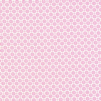 Lecien - Flower Sugar 2013 Fall - Floral Circles in Pink