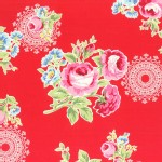Lecien - Flower Sugar 2014 Fall - Main Floral Bouquet in Red