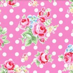 Lecien - Flower Sugar 2015 Fall - Main Floral Dots in Pink