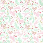 Michael Miller Fabrics - Magic - Magic Folk in White
