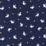 Michael Miller Fabrics - Magic - Baby Dragon in Navy