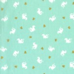 Michael Miller Fabrics - Magic - Baby Dragon in Turqoise