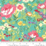 Moda Fabrics - Lawns - Regent Street 2018 - English Garden in Turquoise
