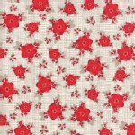 Moda Fabrics - Return Winters Lane - Floral in Stone