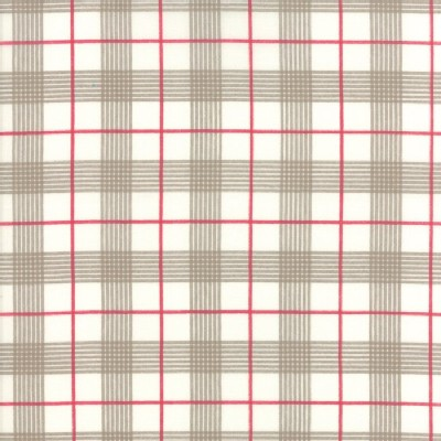 Moda Fabrics - Return Winters Lane - Checkers in Snow Stone