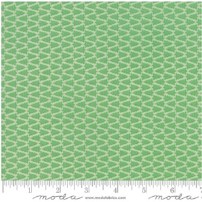 Moda Fabrics - Swell Christmas - Christmas Trees in Green