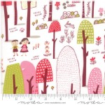Moda Fabrics - Walk In The Woods - Main in White