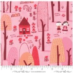 Moda Fabrics - Walk In The Woods - Main in Pink
