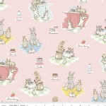 Riley Blake Designs - Bunnies and Cream - Bunnies Main in Pink