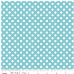 Riley Blake Designs - Knit Basics - Dots in Aqua