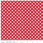 Riley Blake Designs - Knit Basics - Dots in Red