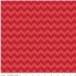 Riley Blake Designs - Knit Basics - Chevron in Red Tonal