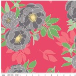 Riley Blake Designs - Knit Prints - The Cottage Garden in Red