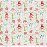Riley Blake Designs - Little Red In the Woods - Damask in Cream
