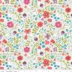Riley Blake Designs - Little Red In the Woods - Floral in Cream