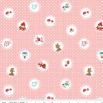 Riley Blake Designs - Little Red Riding Hood - Scallops in Pink