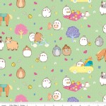 Riley Blake Designs - Others - Molang in Green