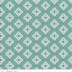 Riley Blake Designs - Paris and Company - Tile in Blue