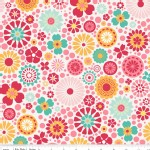 Riley Blake Designs - So Happy Together - Main Floral in Pink