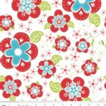 Riley Blake Designs - Sugar and Spice - Main in Red