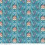 Riley Blake Designs - Vienna - Main in Teal