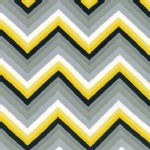Robert Kaufman Fabrics - Laguna Jersey Prints - Tonal Chevron in Yellow