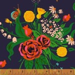 Windham Fabrics - Sleeping Porch - Wild Flowers in Indigo