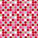Michael Miller Fabrics - Holiday - Peppermint Dot in Pink