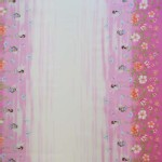 Michael Miller Fabrics - Kids - Fairy Frolic Double Border in Peony