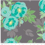 Riley Blake Designs - Knit Prints - The Cottage Garden in Gray