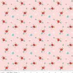 Riley Blake Designs - Little Red Riding Hood - Floral in Pink