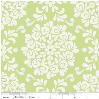 Riley Blake Designs - Priscilla - Ball in Green