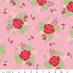 Riley Blake Designs - Sew Cherry - Main in Pink